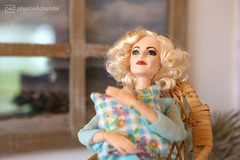 thoughts about you (photos4dreams) Tags: dolls27042017p4d dress barbie mattel doll toy photos4dreams p4d photos4dreamz barbies girl play fashion fashionistas outfit kleider mode puppenstube tabletopphotography helenabonhamcarter ooak oneofakind upgrade dolldesigner design custom repaint