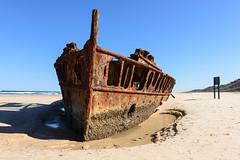 Fraser Island, Australia – Maheno Shipwreck (GlobeTrotter 2000) Tags: fraser island australia maheno shipwreck ship boat wreck 4wd beach visit travel tourism oceania queensland