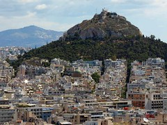 Acropolis view to Lycabettus Hill IMG_8174 (mygreecetravelblog) Tags: greece attica athens athensgreece acropolis acropolisofathens athensacropolis monument monuments heritagesite historicsite unescoworldheritagesite outdoor landscape architecture buildings touristattraction city lycabettushill hill
