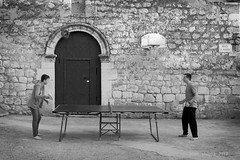 Sports Centre (joansorolla Creative Commons site) Tags: arquitectures sportscentre tabletennis basketball play streetphotography amazingplaces game