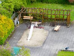 New Planks for Benches (Wolkenkratzer) Tags: 58 pergola munich münchen neuperlach karlmarxring playground slide sandbox bench planks