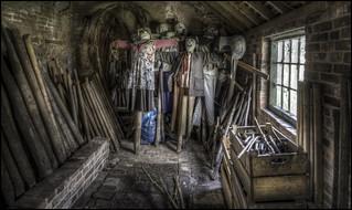 Calke Abbey Scarecrow Storage