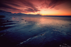 Seashore Sunset (Geinis) Tags: iceland ísland snæfellsnes sea sunset sundown seascape seashore canon canon70d coast nature northern northerneurope landscape longexposure light mountain mountains