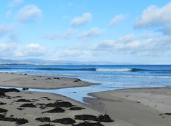 Dornoch Beach, Dornoch, Sutherland, March 2017 (allanmaciver) Tags: dornoch east coast scotland sutherland sand sea shore waves water seaweed blue shades beautiful day allanmaciver