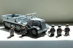 Sd.Kfz. 9 (The Wehraboo) Tags: lego ww2 afv famo sdkfz 9 halftrack prime mover