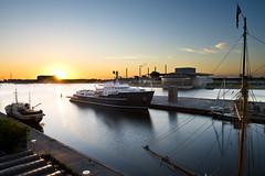 15/52 Copenhagen Sunrise (Holly's 1/52) Tags: project52 photography sunrise sun boat ship vessel water reflection opera house copenhagen københavn nikond810 nikon2470mmf28 nikon sky clouds blue