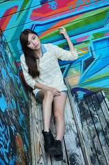 Yibi0032 (Mike (JPG直出~ 這就是我的忍道XD)) Tags: yibi 西門町 d300 model beauty 外拍 portrait 2013 fifi