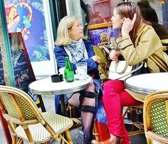 2017-04-22  Paris - Le Québec - 45 Rue Bonaparte (P.K. - Paris) Tags: paris avril 2017 april people candid street café terrasse terrace cast