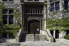 A waning party (aerojad) Tags: chicago universityofchicago university vines oldtimey door doors windows window windo outdoors