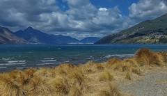 Queenstown, South Island NZ. (petebond_au) Tags: clouds blue fiords mountains landofthelongwhitecloud nature landscape olympusxz2 newzealand southisland queenstown