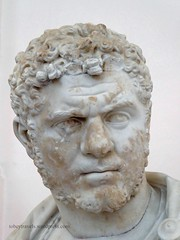 002 Bust of Caracalla,Naples National Archaeological Museum (3) (tobeytravels) Tags: naplesmuseum archaeological farnese caracalla bust marble statue