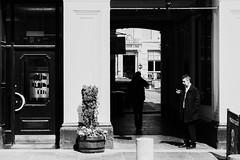 Have a cigar... (John fae Fife) Tags: fujifilmx noiretblanc xe2 scotland monochrome street streetphotography bw nb blackandwhite glasgow