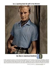 1965 American Bembers ad (Tom Simpson) Tags: 1965 americanbembers ad 1960s vintage vanheusen fashion 1960sfashion ads advertising advertisement vintagead vintageads