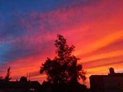 El color del alma. (spawn5555) Tags: naturaleza natural cielo sky rojo nubes aguascalientes méxico belleza beautiful