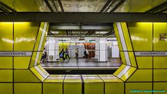 Hamburg, Germany: Jungfernstieg Station, Lines U-1, U-2 & U-4 (nabobswims) Tags: de deutschland germany hamburg hochbahn jungfernstieg lineu2 lineu4 metro nabob nabobswims sonya6000 subway ubahn selp1650