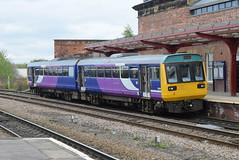 142020 @ Wakefield Kirkgate (ianjpoole) Tags: northern rail 142020 working 2o69 huddersfield wakefield westgate