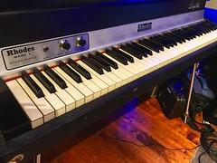 Diagonal Keys (Pennan_Brae) Tags: musicstudio recordingsession recordingstudio recording fender instrument vintage musicphotography keyboard fenderrhodes rhodes