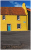 Colourful House, St Monans-2 (Gordon_Farquhar) Tags: anstruther fife st monans pittenweem cellardyke crail coast scotland east sunshine spring light