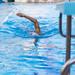 Professioneller Schwimmer