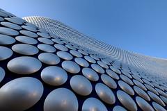 The Bullring (realstephenwhite) Tags: wave birmingham pattern shopping building silver uk facade fujifilm abstract architecture xt2 bullring metal selfridges discs