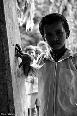 Waki (Dina Shoukry) Tags: india mumbai places blackwhite faces gunpati children school waki mcleodganj travel closeups nikon