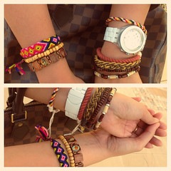 Friday Arm Party (joyful JOY) Tags: fashion swatch watch tribal trendy bracelets stacking chic acessories accessory armparty armcandy armswag