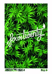 four twenty (victor hans) Tags: four typography weed 420 lettering twenty