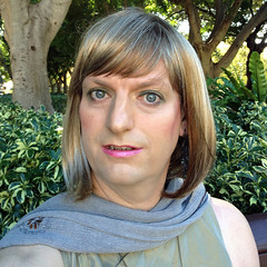 I've Gone Blonde ... (justplainrachel) Tags: selfportrait green face grey tv rachel eyes cd indian sydney tgirl wig tranny blonde transvestite crossdresser salwarkameez dupatta xdress justplainrachel