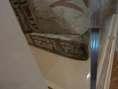 Inscription on the base of the Unnamed Coffin (meechmunchie) Tags: coffin osiris ancientegypt cincinnatiartmuseum 25thdynasty