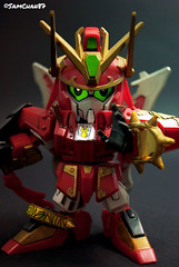 Zhang Fei (sumosam87) Tags: toy photography battle fei sd brave warriors bb gundam zhang gunpla sangokuden