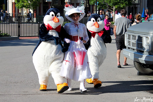 Mary Poppins and Penguins