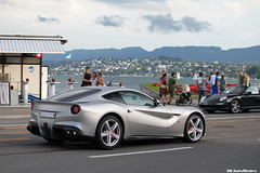 F12 (AK AutoMotive) Tags: car matt grey switzerland ferrari zrich supercar spotting matte f12 berlinetta 740
