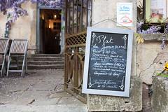 Plat du jour (mll) Tags: restaurant bourgogne ardoise lightroom vzelay aay