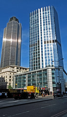 Tower 42 and 99 Bishopsgate (SONICA Photography) Tags: city urban london architecture photo office foto photos photographic photographs photograph fotos londres lin londra tower42 bishopsgate cityoflondon londinium 99bishopsgate houndsditch londonist fotograaf londonengland photographes londonphotos 2013 stbotolphwithoutbishopsgate eztd eztdphotography photograaf eztdphotos eztdgroup no1photosoflondon londonimagenetwork ceztd