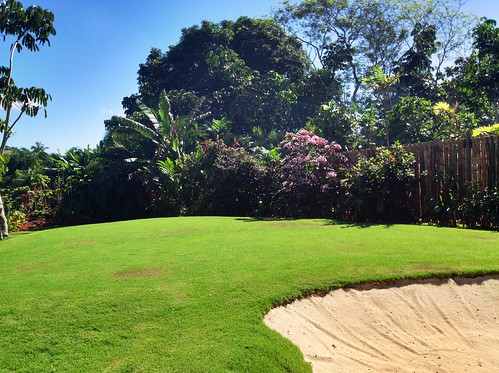 Villa Takali - Fiji - Putting green