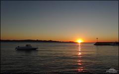 Bibinje sunset (Milan Z81) Tags: sunset sea sun croatia more hrvatska dalmatia dalmacija zalazak bibinje