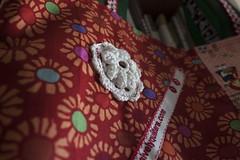 Saco Reversvel JOY II (owl_mania) Tags: quilt crochet agosto quilting patchwork saco fabrics tecidos selvage 2013 tecidosjaponeses tecidosportugueses selvages sacoselvage sacoempatchwork
