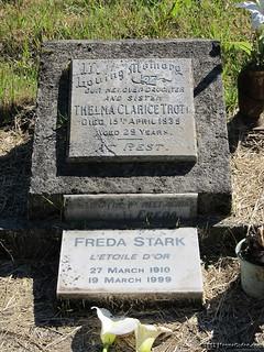 Freda STARK and Thelma TROTT