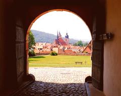 Blick von ganz oben (floressas.desesseintes) Tags: thringen impressionen tor idylle romantik durchblick wilhelmsburg schmalkalden