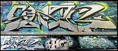 saner/ hobz/ revert (KGB Click) Tags: paris france colors wall writing silver graffiti paint fat letters can spot peinture chrome writer greetings graff pm couleur bombe lettres kgb mct wildstyle bande hva lettrage revert saner hobz trbdsgn ptdq