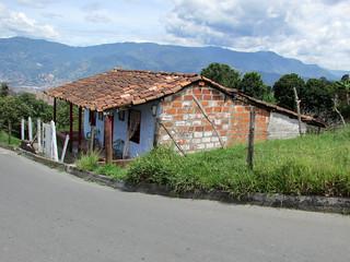 Vivienda campesina. San Antonio de Prado, Medellín