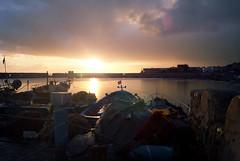 Ghar El Melh (elyes djazz) Tags: sea clouds port seaside dock tunisia sony ships north 330 alpha tunisie bizerte barques beautifulsky gharelmelh portofarina