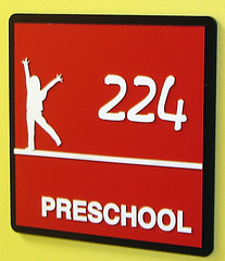 Custom Interior PVC Sign | Signarama Louisville Downtown, KY | Preschool