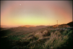Moonrise over Point Reyes, Clifornia, 1990 (svensvensen2007) Tags: california film 35mm point nikon moonrise fe reyes minoltadimagescandualiii minoltadualscanii minoltadualscaniii