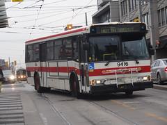 Toronto Transit Commission 9416 on Hillcrest Shuttle (Orion V) Tags: ttc torontotransitcommission 9416 orionv cumminsm11 hillcrestshops hillcrestshuttle