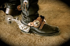 Rodeo Boots (tvdflickr) Tags: leather cowboys spurs boots rodeo leatherboots