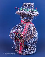 Christmas Snowman (augphoto) Tags: christmas decorations stilllife holiday snowman tabletop augphotoimagery