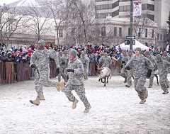 Run for the Finish at the Running of the Reindeer - Anchorage, AK (Bower Media) Tags: charity snow alaska event anchorage willow nome sleddog wheaties toysfortots armedservice iditarod capedcrusader 2013 eventphotography runningofthereindeer larrydonoso larryadonoso photolarryadonoso ceremonialrace santaclausehay thelastgreatraceonearth