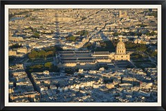 Paris - France -  from the top of the Eiffel Tower (V - UK (Thanks for 2.4 Million+ views)) Tags: street paris france art nature day view eiffeltower wishes