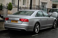 Audi S8 (CA Photography2012) Tags: auto ca london car sedan photography automotive exotic audi saloon powerful luxury v8 awd spotting quattro d4 s8 belgravia lb13uam